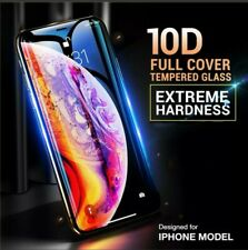 iPhone XR 10d Curved Screen Protector Tempered Glass