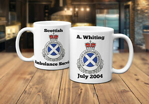 Scottish Ambulance Service Personalised Coffee/Tea Mug