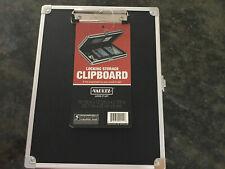 Vaultz Locking Storage Clipboard (Black) 10 1/8in x 12 5/8in x 2 3/8in