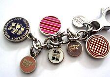 NEU George Gina Lucy Schlüsselring Keyrings *Charming Coins* purple