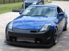 Fits Nissan 350z  2003-07 Wing Style Urethane front bumper bodykit Free Mesh