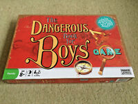 THE DANGEROUS BOOK FOR BOYS Board Game 100% COMPLETE EXCELLENT CONDITION