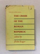 The Crises of the Roman Republic Edited by Robin Seager 1969 (HC)-Fair