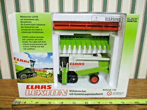 Claas 460 Lexion Combine On Tracks By Norscot 1/64th Scale >