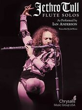 Jethro Tull - Ian Anderson Flute Solos Song Book *New*