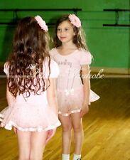 Pink Princess Cute Ballet Leotard Tutu Dance Dress 2-6Y