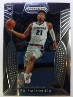 2019-20 Panini Prizm Draft Picks Rui Hachimura Rookie RC #10, Washington Wizards