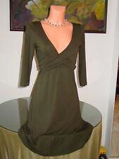 NWT Cosabella TALCO C/C Wrap Dress, sz M Forest Green