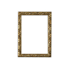 Antique cushion ornate swept Picture frame photo poster frame GOLD