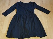 beauitiful black ASOS cocktail party evening dress size 10