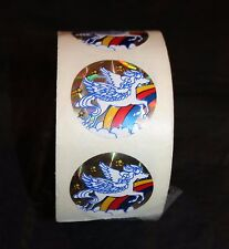 Vintage Pegasus Prism Roll Sticker 163 Collection 80s Rainbow White Flying Horse