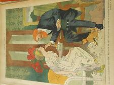 Consultation Docteur la langue est meilleure aujourd'hui Humour Print 1913