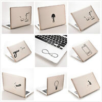 Funny Creative Vinyl Decal Sticker Skin for Laptop MacBook Air Pro 11''~ 15''EB