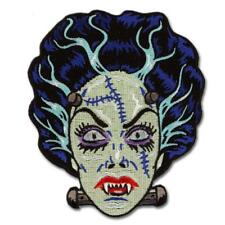 Nightmare Bride Frankenstein Patch Iron On Patch Retro Rockabilly Horror