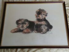 Vera Adams 1991 Pencil ? Dogs