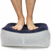 Inflatable Foot Rest Pillow Cushion Travel Home Relax Reduce DVT Risk mode VQA