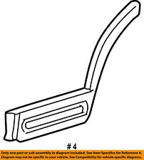 FORD OEM 03-05 Explorer REAR DOOR-Body Side Molding Left 3L2Z7825557AAA