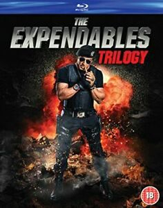 THE EXPENDABLES TRILOGY MOVIE COLLECTION (3 FILMS) BLU-RAY [UK] NEW BLURAY