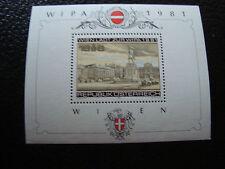 AUTRICHE - timbre yvert et tellier bloc n° 10 n** (Z11) stamp austria