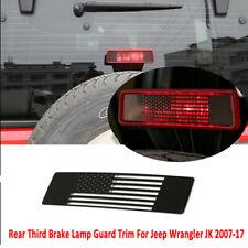 Third Brake Light Cover For Jeep Wrangler JK 2007-2017 Lamp Accessories Stainles