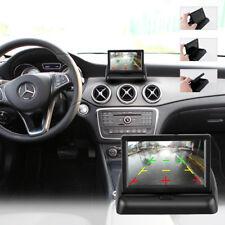 Rückfahrkamera Einparkhilfe mit 4.3'' klappbar LCD Monitor Nachtsicht Kabel 170°
