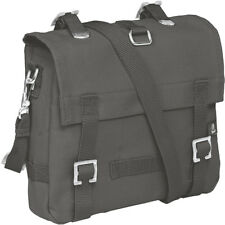 BRANDIT COMPACT CANVAS BAG SMALL ARMY SHOULDER PACK FISHING MESSENGER ANTHRACITE