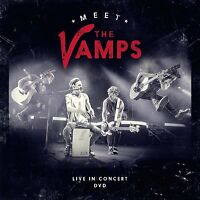 "THE VAMPS - MEET THE VAMPS ""LIVE"" IN CONCERT: DVD  (December 1st, 2014)"
