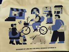 Opening Ceremony Shop Small Business Saturday Canvas Shopping Tote Bag limited 2