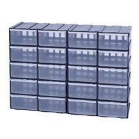 Box Kiste Sortierkasten Sortimentsbox Organizer Sortimentskasten x20