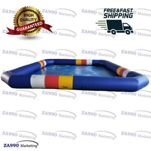 20x13ft Commercial Inflatable Pool For Walking Ball With Air Pump