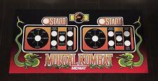 Mortal Kombat Arcade Control Panel Overlay MK1 CPO Midway