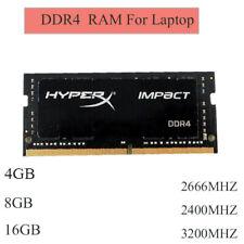 4 Go 8 Go 16 Go 2400 MHz 2666 MHz 3200 MHz DDR4-SO-DIMM-RAM pour Kingston HyperX