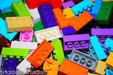 ☀️100 X LEGO 2x4 BRICKS MIX LEGOS ALL COLORS HUGE BULK LOT PARTS PIECES @ RANDOM