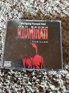 Illuminati, Dan Brown, Hörbuch, Thriller, sehr guter Zustand!