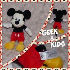 Petite peluche Mickey Mouse - Disney Nicotoy - 18cm - Ref C4