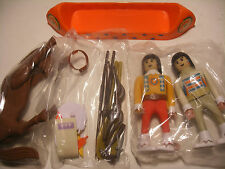 playmobil PLAY BIG AIRGAM BOYS airgamboys NEUF far west Indien CANOE