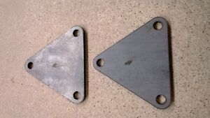 €5 OFF ! Vauxhall Red Top XE engine mount plates Mk1 Mk2 Escort race rally EP-94