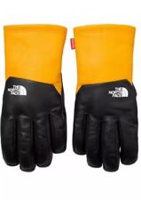 Supreme North Face Leather Gloves (Large)