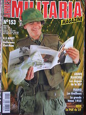 Militaria Magazine n°153 (avril 1998) Heer : Pak de 37 - US Army-Armes blanches