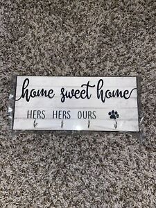 Home Sweet Home Key Holder For Lesbian Couple With Dog