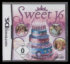 NDS sweet 16-plane ta fête-anniversaire-planner (Nintendo) *** Nouveau ***