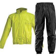 Tuta antipioggia Impermeabile Moto Acerbis Logo Rain Giallo Fluo Yellow Tg L