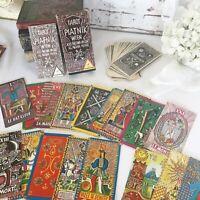 RARE Vintage Tarot Piatnik Wien Deck Cards Set, 1974 Fortune Telling Cards