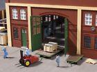 Auhagen 41635 'In House Transport' Forklift & Trailer  HO Gauge Plastic Kit  T48