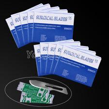 AU 10 X Dental 100PCS/Box Surgical Scalpel Blades For Scalpels Instrucments 10#