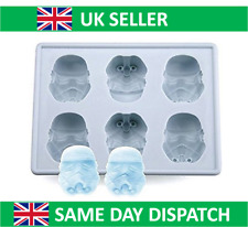 Star Wars Ice Cube Tray - Storm Trooper - Mould Silicone Cake Jelly Whisky UK
