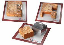 "Forma quadrata acciaio Cookie CAKE SLICER / TAGLIERINA 3 ""Deep CON MANIGLIA"