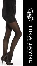 BLACK 40 DENIER  (XXL) OPAQUE TIGHTS TJ