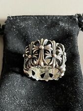 Chrome Hearts Cemetery Cross Ring [Fits 10-10.5]