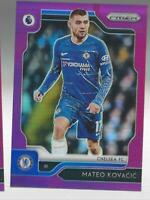 MATEO KOVACIC 2019-20 PANINI PRIZM PREMIER LEAGUE PURPLE REFRACTOR /#99 MADE EPL